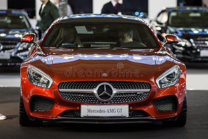Мерседес AMG GT стоковая фотография rf