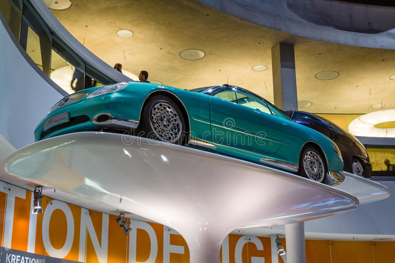 Мерседес-Benz F200 Воображение автомобиля концепции, 1996 стоковые фото