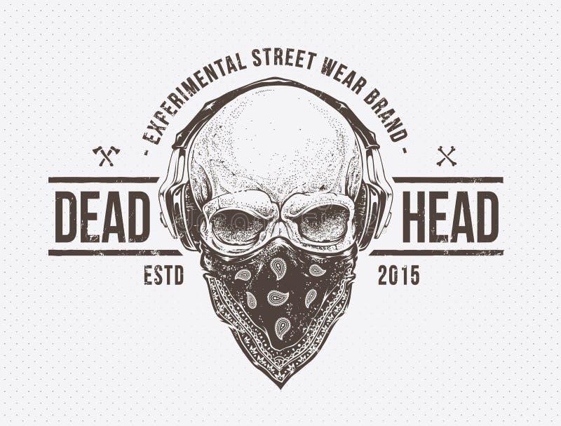 Мертвая голова иллюстрация вектора