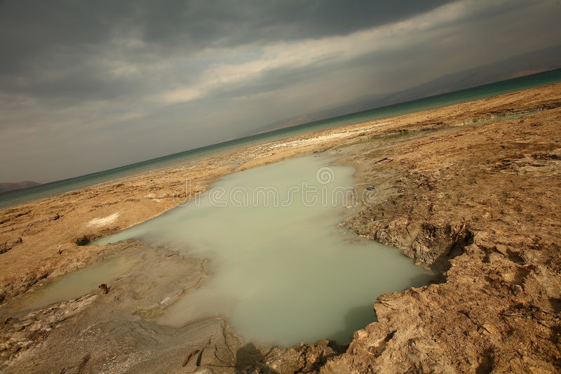 мертвое море Израиля s стоковая фотография