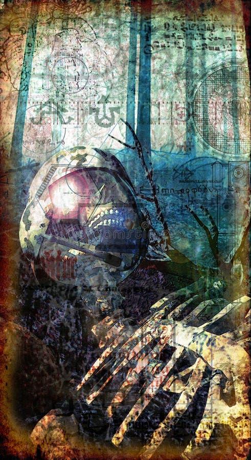 мертвый готский воин бесплатная иллюстрация