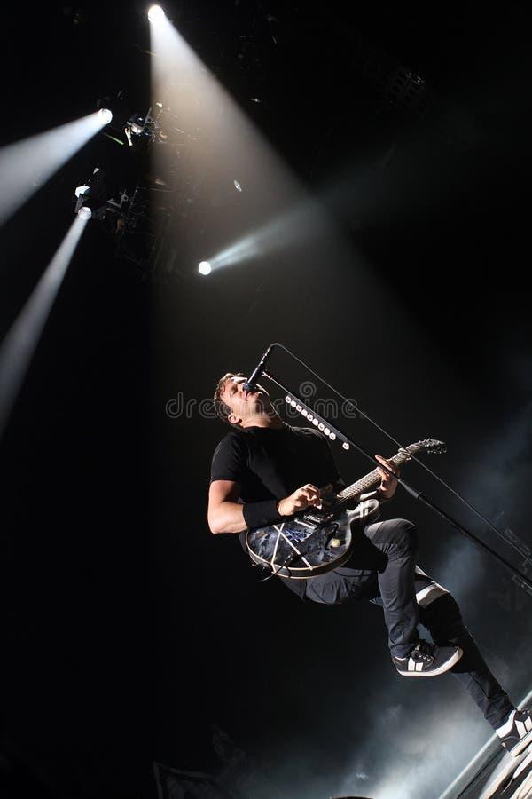 Мерцание 182 выполняет в концерте стоковое фото