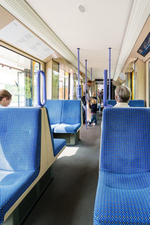Download Места в трамвае в Германии редакционное изображение. изображение насчитывающей экипаж - 40585035