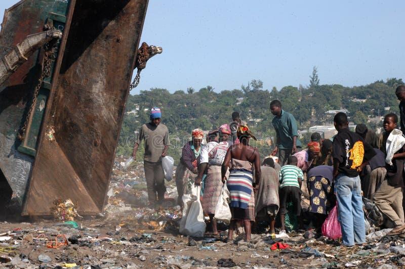 места захоронения отходов стоковые изображения rf