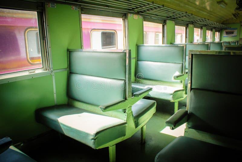 Места на поезде стоковые фото