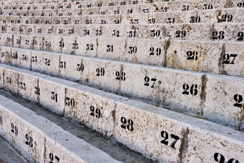 места номера арены стоковое фото