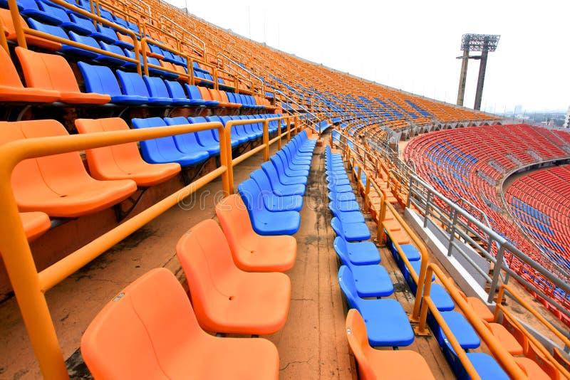 Места стадиона стоковое изображение rf