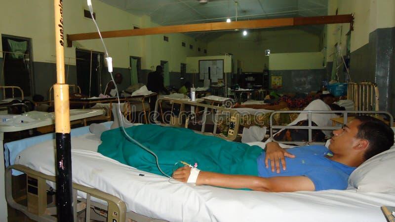 Местная больница Гана стоковое фото rf