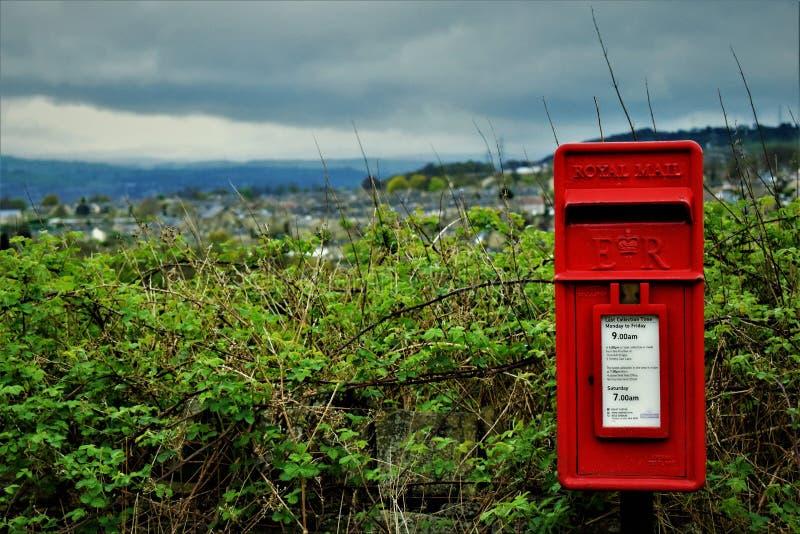 Местное почтовое стоковая фотография rf