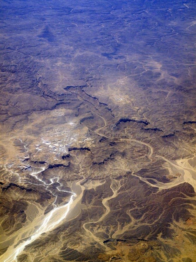 местность пустыни Стоковое Изображение RF