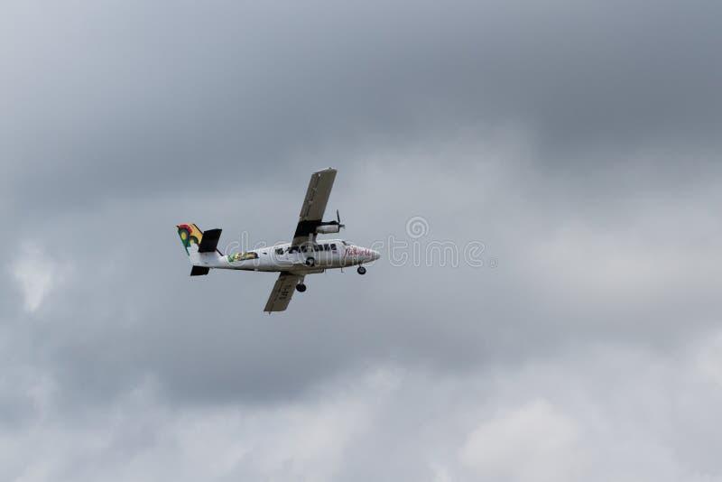 Местный полет в Коста-Рика стоковые изображения