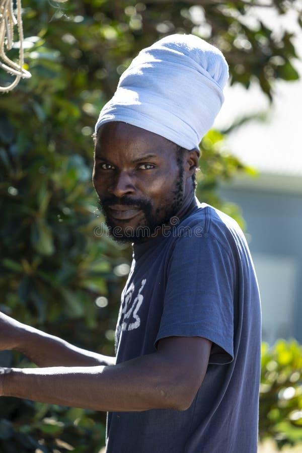 Местный человек от Южной Африки с turbant стоковое фото