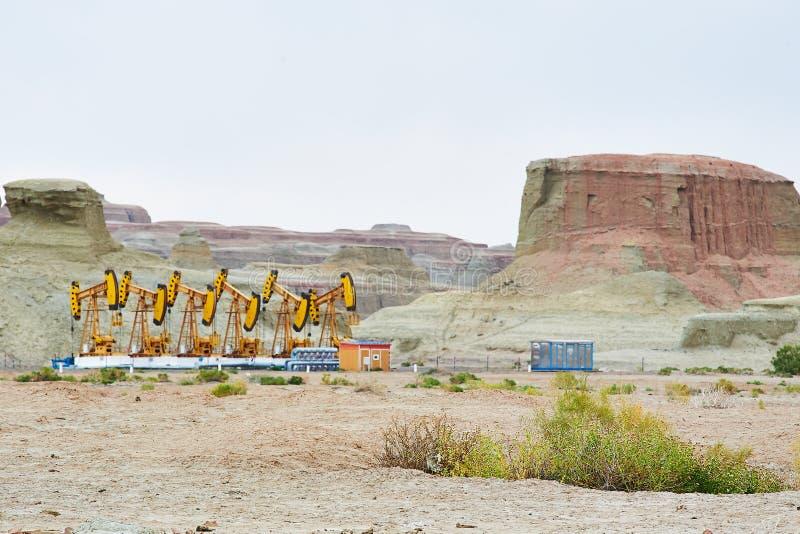Месторождение нефти стоковое фото rf