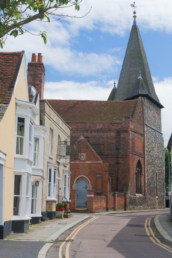 Место Англии Essex Maldon. стоковые изображения rf