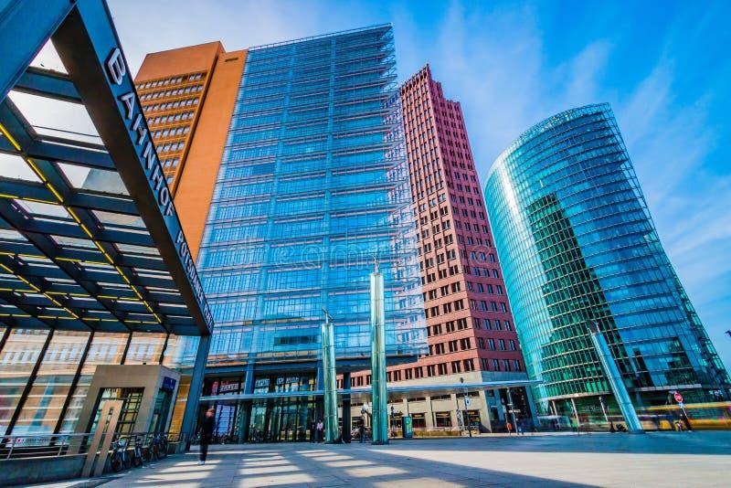 Место Берлин Потсдама стоковое изображение