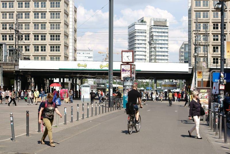 Место Берлина Александра стоковое фото rf