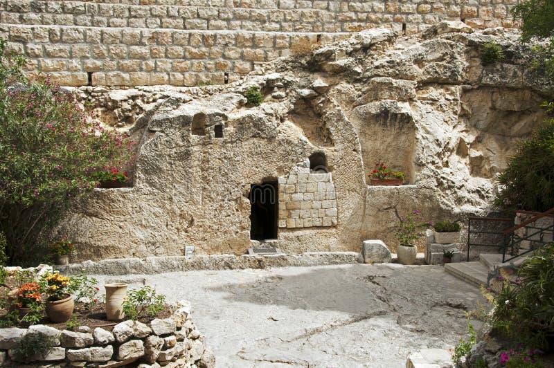 Место воскресения Иисуса Христоса стоковое изображение