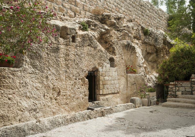 Место воскресения Иисуса Христоса стоковая фотография
