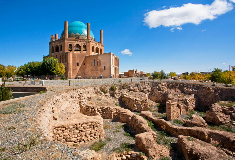 Место всемирного наследия ЮНЕСКО, так называемый иранец Тадж-Махал стоковые фотографии rf
