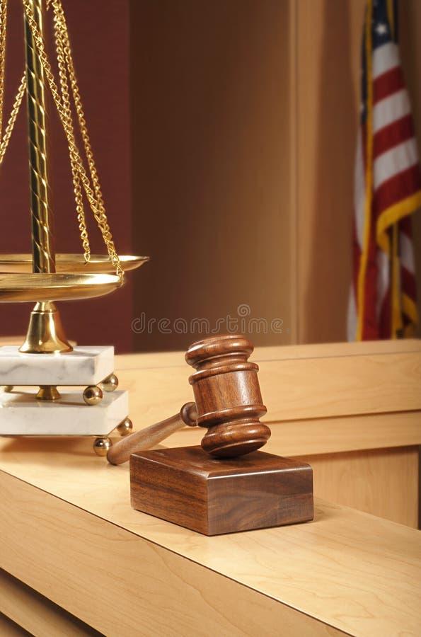 место зала судебных заседаний стоковое фото