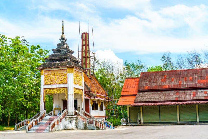 Место захоронения для тайского буддиста стоковые изображения
