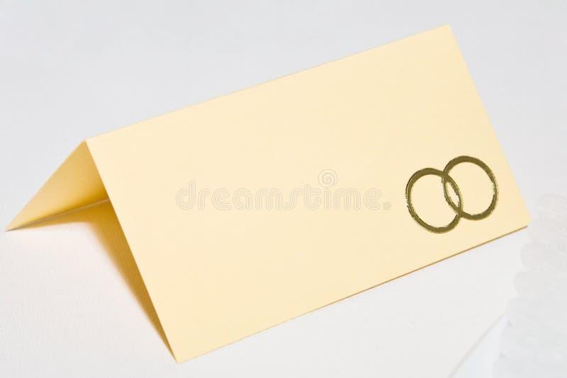 место карточки стоковое изображение