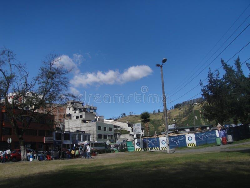 Место Кито MINDO красивое стоковая фотография rf