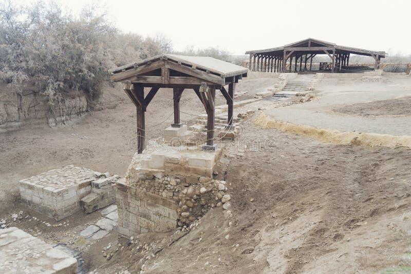 """Место крещения """"Bethany за  Jordan†стоковые изображения"""