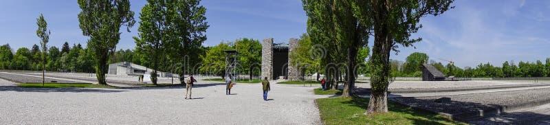 Место мемориала концентрационного лагеря Dachau стоковая фотография