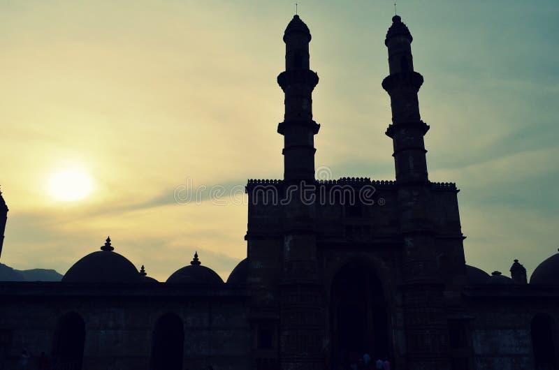 Место мечети Jami историческое стоковая фотография