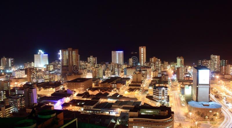 место ночи города стоковое изображение