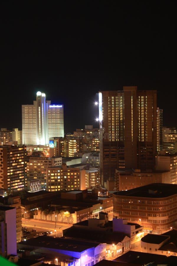 место ночи города стоковое фото rf