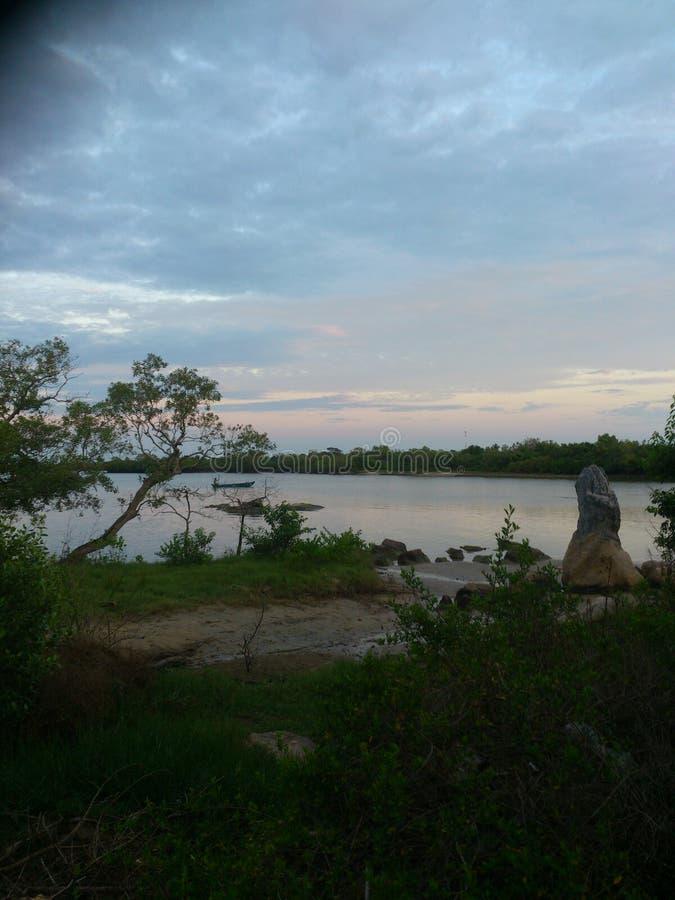 Место озера Woter стоковое изображение