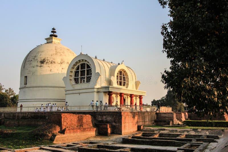 Место остатков Будды стоковое изображение