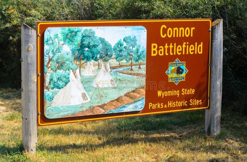 Место положения поля брани Connor историческое стоковые фото