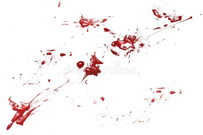 место преступления крови стоковое изображение rf