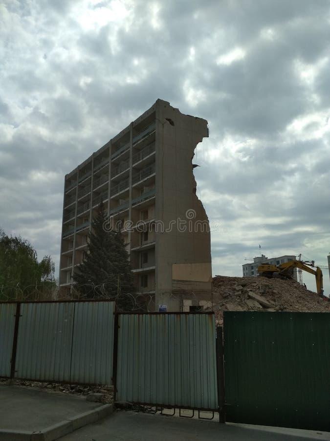 Место разрушения стоковое фото rf