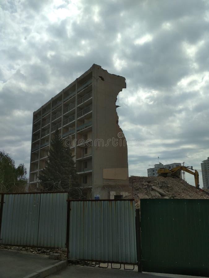 Место разрушения стоковые фотографии rf