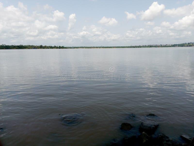 Место реки стоковая фотография
