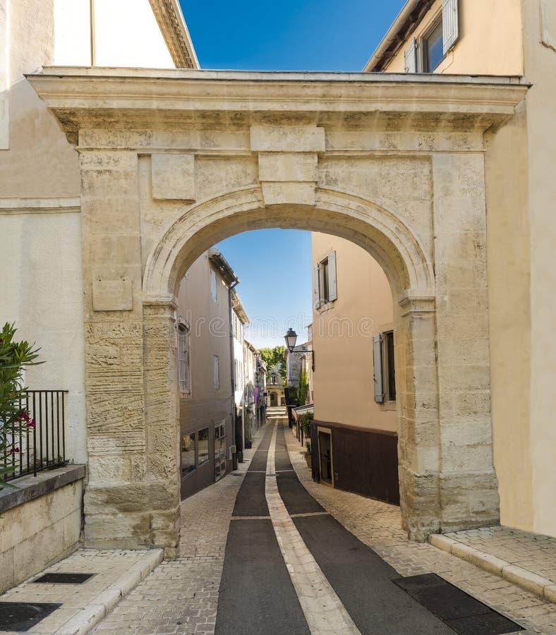Место рождения St-Remy-de-Провансали Nostradamus стоковая фотография