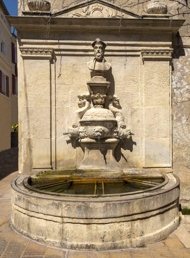 Место рождения St-Remy-de-Провансали Nostradamus стоковые фото