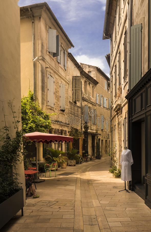 Место рождения St-Remy-de-Провансали Nostradamus стоковое фото rf