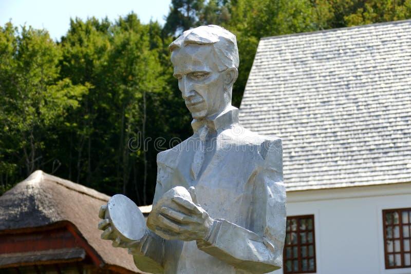Место рождения tesla Nikola в Хорватии стоковое изображение rf