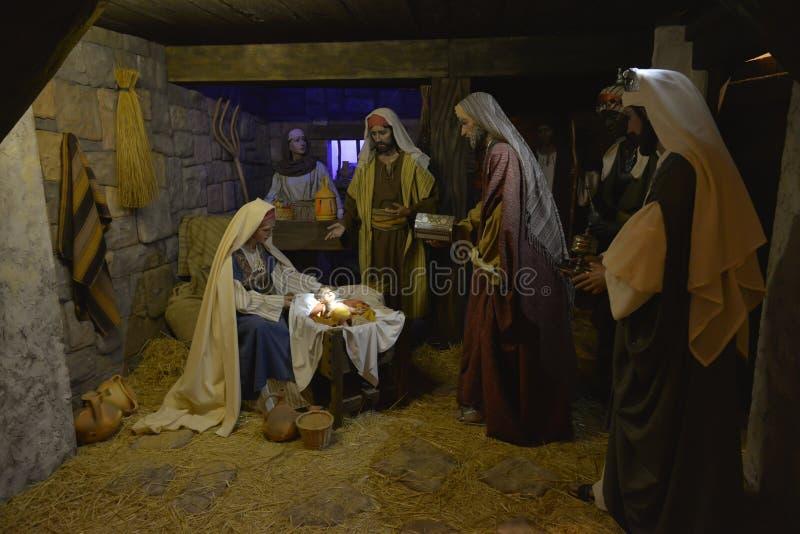 Место рождества стоковое фото