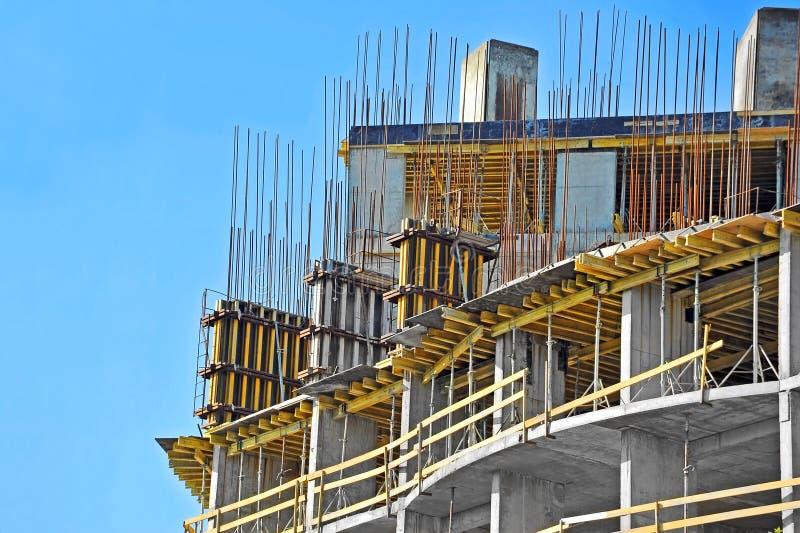 Место строительной конструкции стоковые изображения