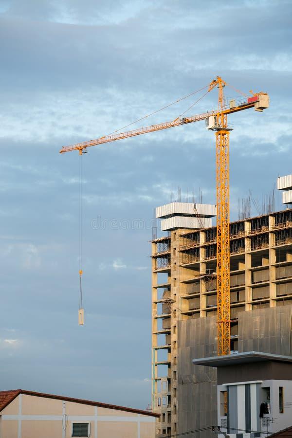 Место строительства стоковое изображение rf