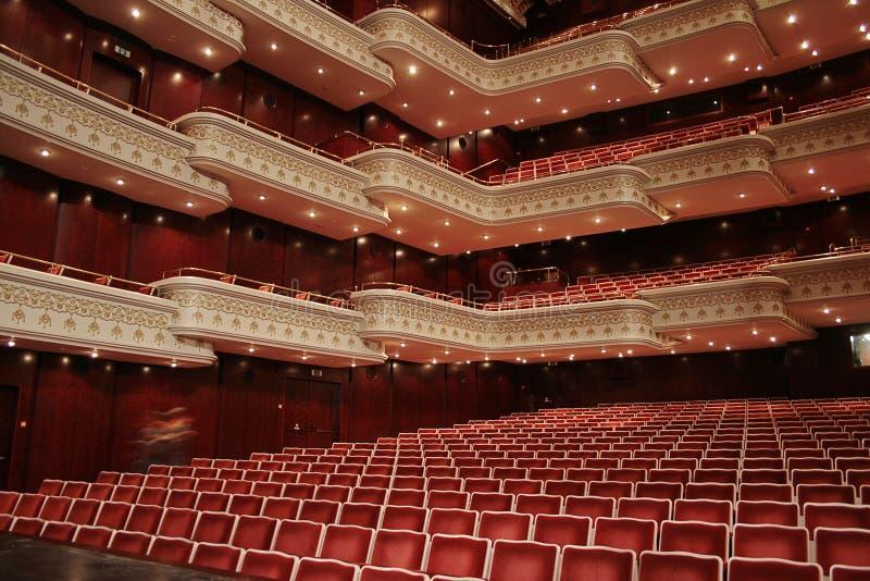 место театра стоковое изображение rf