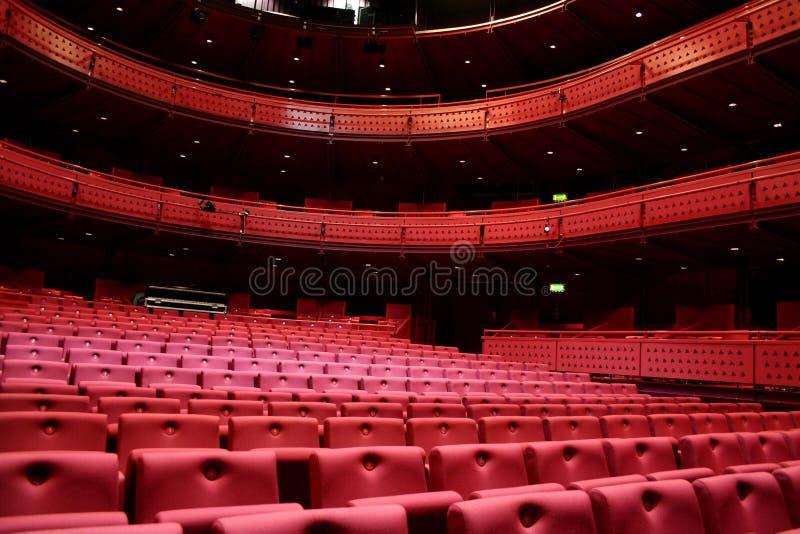 место театра стоковая фотография