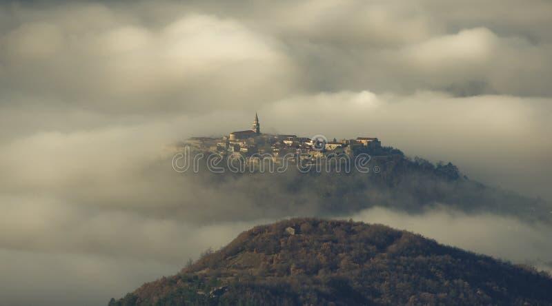 место тумана стоковая фотография