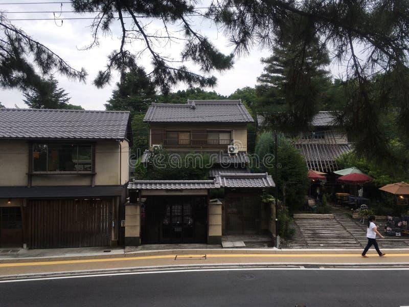 место японии японское kyoto зодчества историческое стоковая фотография rf